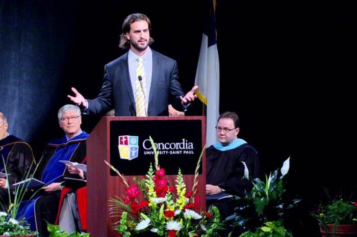 Ben Utecht Concordia University Commencement Address 2014