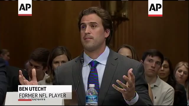 Ben Utecht Senate Hearing