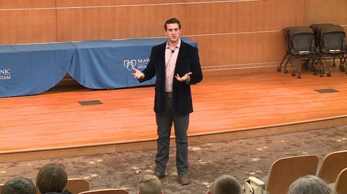 Ben Utecht Speaking at Mayo Clinic