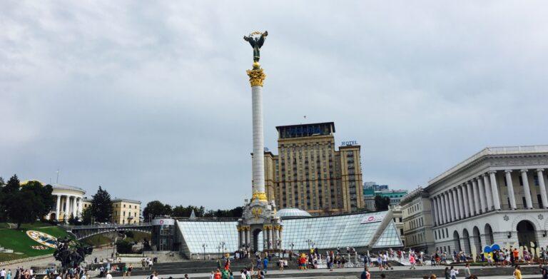 Ben Utecht Ukraine statue