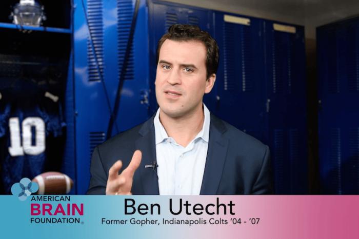 PSA American Brain Foundation Ben Utecht