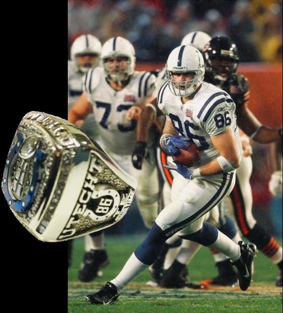Ben Utecht Super Bowl Ring