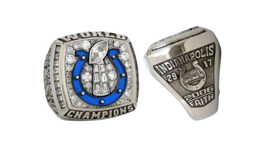 Colts Super Bowl Ring Faith